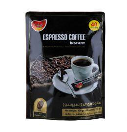 پودر قهوه فوری اسپرسو 40 عددی پاپران