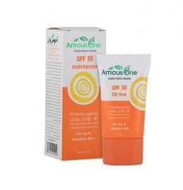 کرم ضد آفتاب SPF30 moisturizer آموس وان