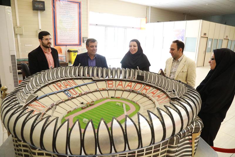 حضور مدیران جهاد دانشگاهی در بادران