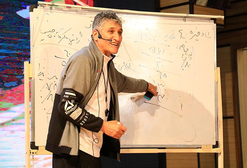 حضور سرمربی اسبق تیم ملی والیبال در بادران