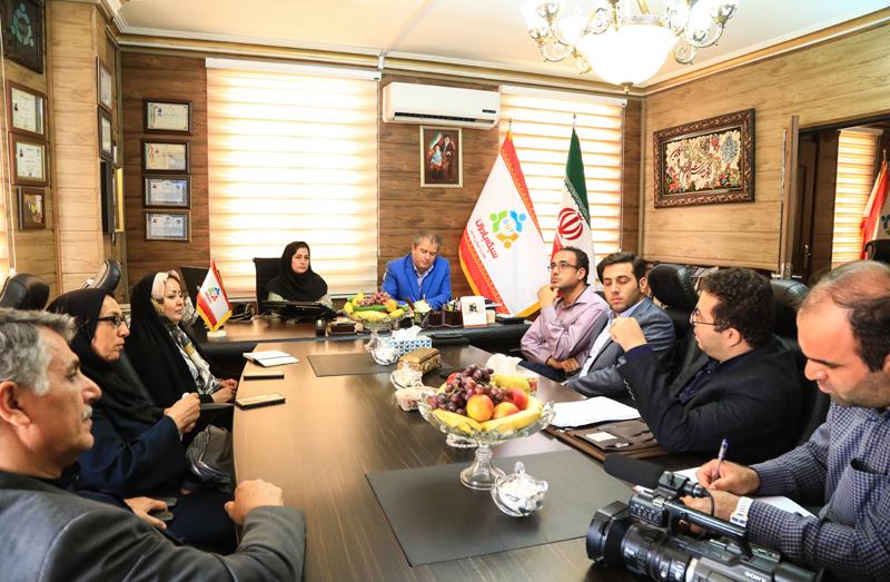 اعضای شورای شهر همدان در شرکت بادران