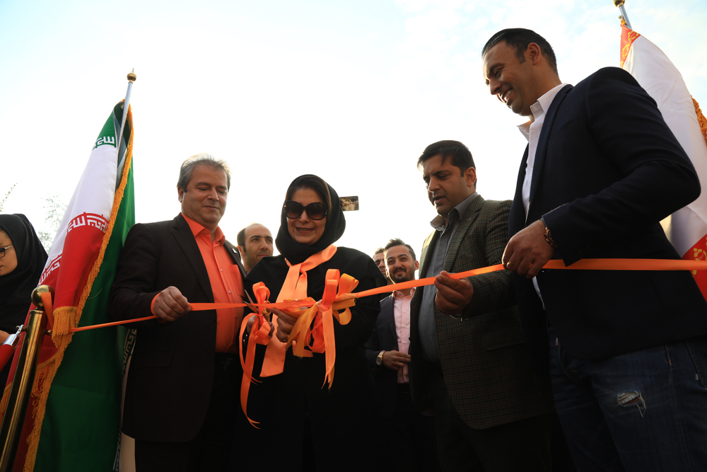 افتتاح مهمانسرای باشگاه فرهنگی ورزشی بادران