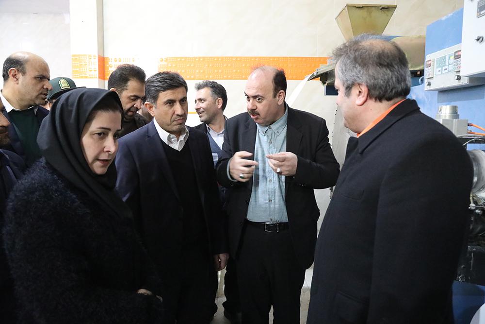 آغاز رسمی بهرهبرداری از کلین روم نازگل با حضور استاندار البرز