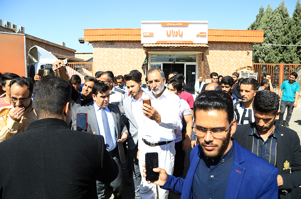 بازدید مدیران صنعت افغانستان از شرکت بادران