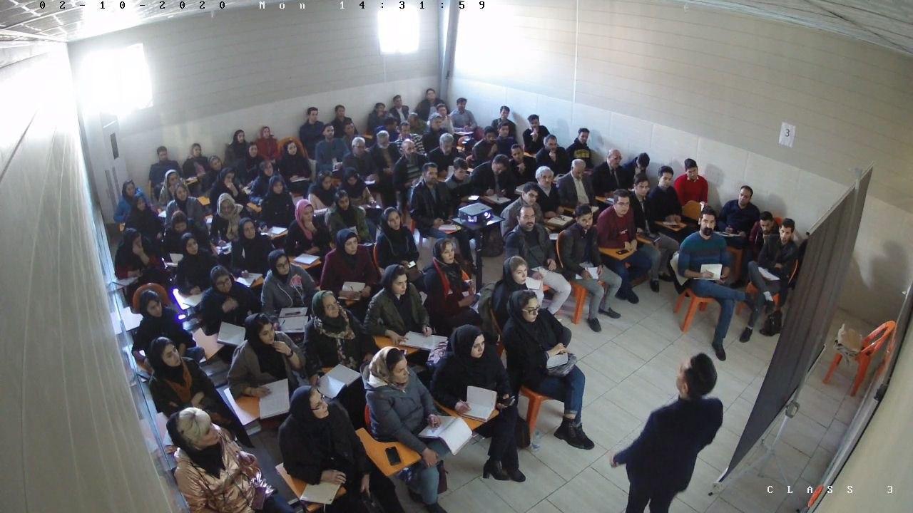 کلاس آموزشی زبان بدن برگزار شد
