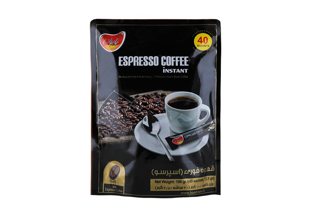 تولید پودر قهوه اسپرسو در کارخانه پاپران