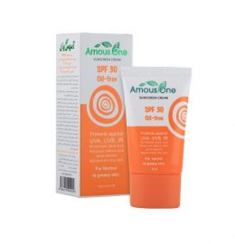 کرم ضدآفتاب SPF30 Oil-free در سبد محصولات بادران