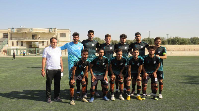 تساوی تیم فوتبال امید بادران در هفته اول
