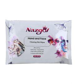 دستمال پیلوپک پاک کننده و نرم کننده دست و صورت نازگل