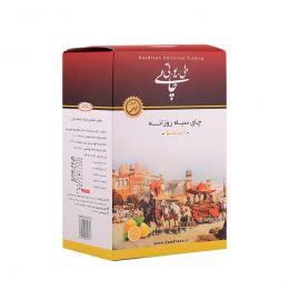 چای 350 گرمی سیاه داخلی با طعم لیمو