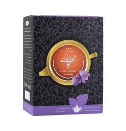 چای کیسه ای قوری سیاه ایرانی زعفران
